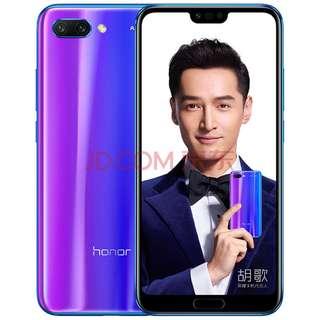Hauwei Honor 华为荣耀10, 6GB+64GB, 全网通