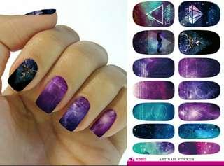 🚚 nail sticker