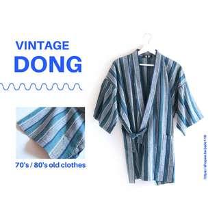 🚚 | 咚 咚 Vintage |日本古著-| 靈河記憶|短袖甚平、浴衣、和服