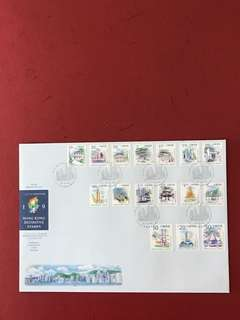 Hong Kong China FDC as in Pictures