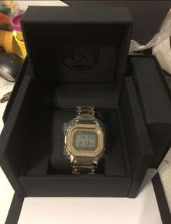 Casio G-shock gmwb5000tfg-9 35週年限量金色