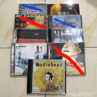 PRELOVED Radiohead CDs Collection