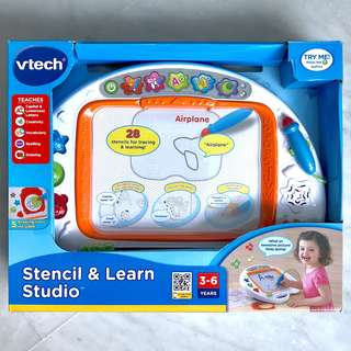 (In-Stock) VTech Stencil & Learn Studio, White (Brand New)