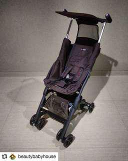 Preloved Stroller Pockit 4 Cofee