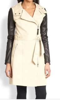 MACKAGE LYST TRENCH COAT WOMENS XXS