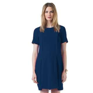 Nursing maternity work dress