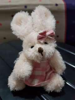 Plush bunny daiso