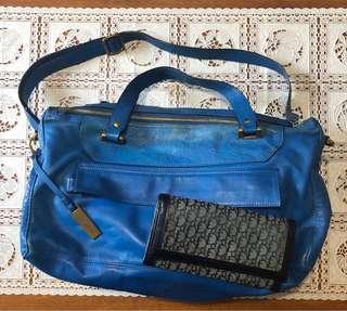Rabeanco + Christian Dior wallet