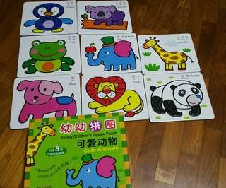 Puzzles for baby and toddler