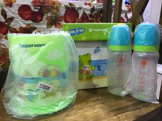 Tupperware nursing bottle set