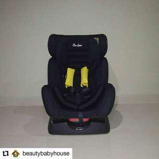 Preloved Carseat Cocolatte Hitam