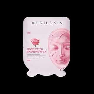 [FAST PO] Aprilskin Rose Water Modeling Mask 55g