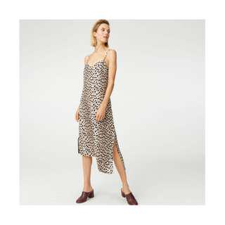 Club Monaco, Paz Dress, Brown Multi