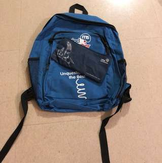 mindstretcher bag and pencil case