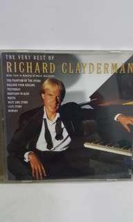 Cd English Richard clayderman