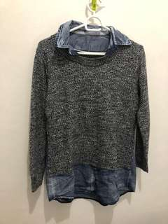 Collared Pull Over Korean Style