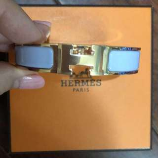 Hermes 手鐲淺紫色