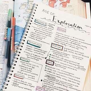 E maths & A maths notes