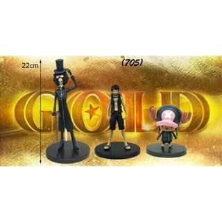 ONE PIECE GOLD COLLECTIBLES