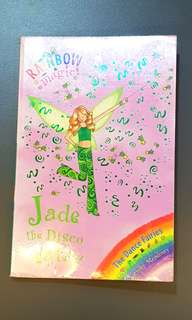 Pre-loved Rainbow Fairy book Jade the Disco Fairy