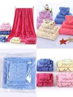 3in1 Bath Towel