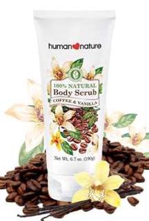 Body Scrub Coffee & Vanilla (Natural & Organic)