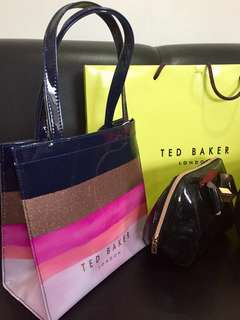 Ted Baker London (small bag stripes)