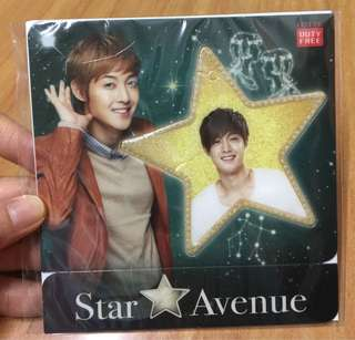 #KayaRaya Kim Hyun-joong Star Avenue Wish Card