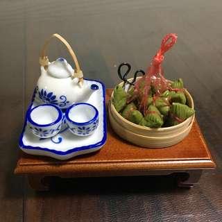 🚚 Dollhouse Miniature Teapot set #3