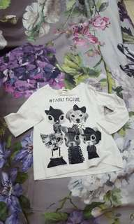 H&M animal babies top