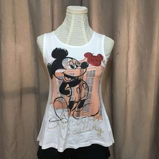 Disney x Max Mickey Sleeveless Shirt
