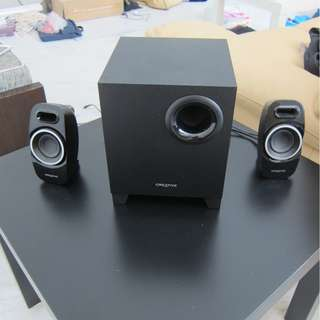 Computer speakers 2.1 Creative A350