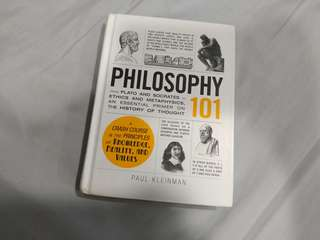 Philosophy 101 - Paul Kleinman