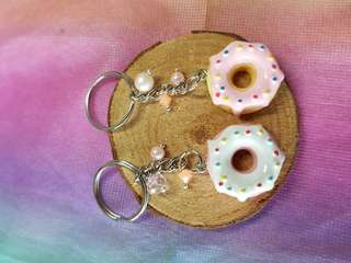 Donut key ring