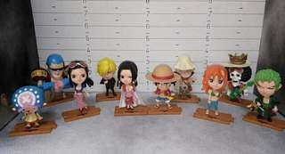 One Piece Chibi Set