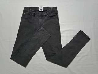 Pull&Bear 'spay on skinny' jeans (black)