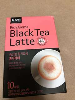 韓國black tea latte