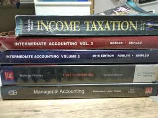 Accounting, Taxation, Managerial Accounting