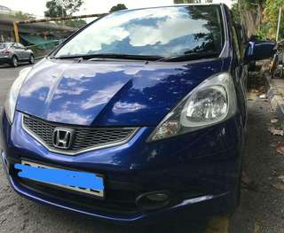 Honda fit rs  1.5 manual skyroof 2008
