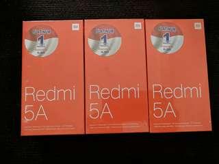 Xiaomi redmi 5a 3/32 grey , gold bisa kredit tanpa kartu kredit proses cepat bunga rendah