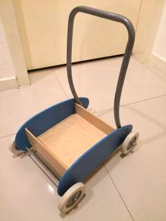 Preloved IKEA MULA Toddle Truck in Blue - in very good condition