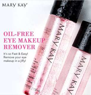 Mary kay oil-free make up remover .