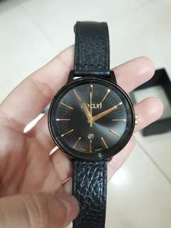 Rip Curl LINDSAY MIDNIGHT LEATHER WATCH