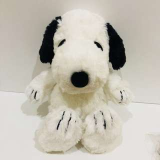 Authentic Fluffy Snoopy Plush Toy