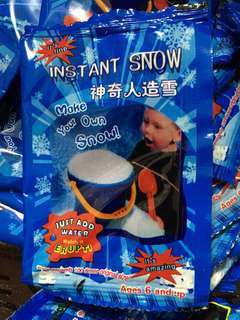🚚 Instant fake snow