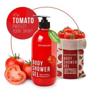 Skinganic Natural Showel Gel [Tomato]