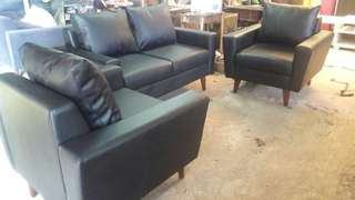 Sofa semi leather