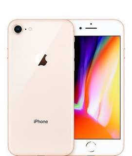 iPhone 8 Gold Glasses 64GB