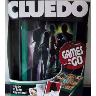 "Games to Go ""CLUEDO"" by Hasbro"