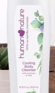 Cooling Body Wash with Rosemary and Mint